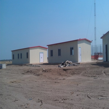 Modern Prefabricated Homes With Anti Fire Rock Wool Panel