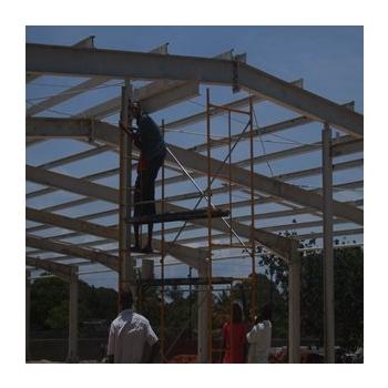 steel house installation 2