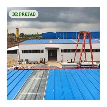 Low Cost Steel Structure Workshop in industrial park nigeria