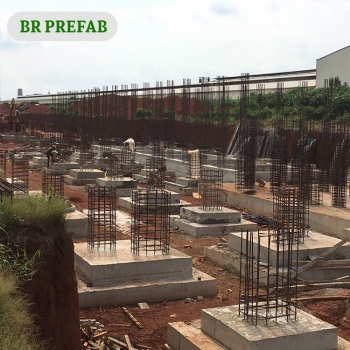 Prefabricated Steel Structure with Inside Divided Shop in Philippine