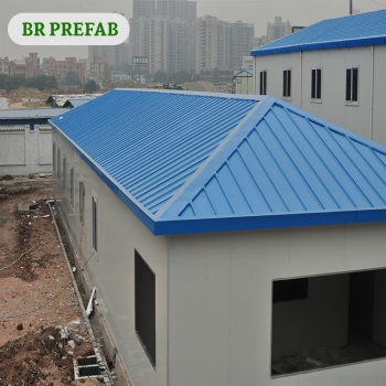 Custom Prefab House With Sandwich Panel