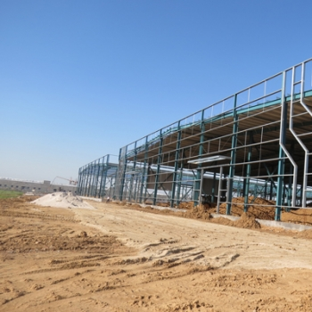 Factory supplied  Prefabricated Warehouse For Logistics Purpose