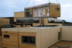 What is the Container house development history?