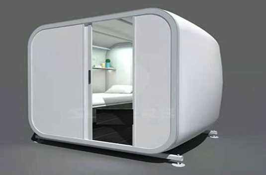 Prefabricated Houses For Movable  Hotel is Fully Customisable