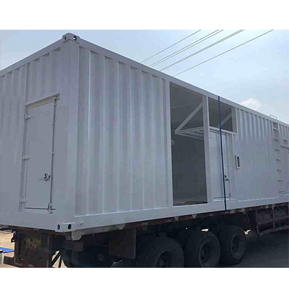 Equipment container house