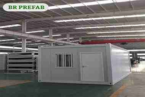 New Flat Pack Container Factory Welcome Customer to Visit