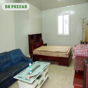 Prefab Eco House With Durable Light Steel Prefab Frame