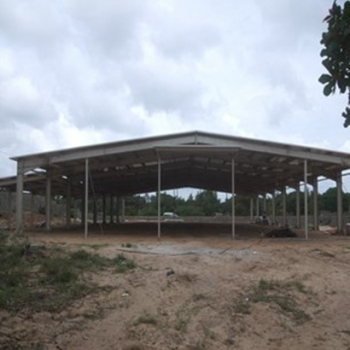 High Standard Steel Frame Structures For Logistic Center