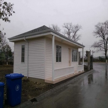 prefabricated house kits with concrete panel for vacation village