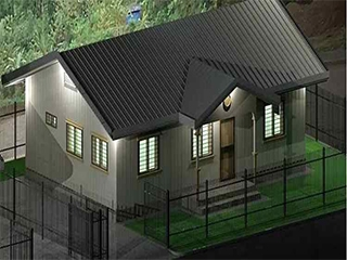 Prefabricated Villa House Project in Indonesia