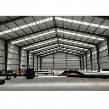 Aircraft Hangar with automatic door equipped