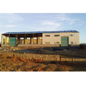 Steel Structure Warehouse for Hardwares in Kenya