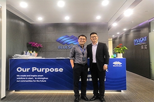 Steel structure partner meeting with Bluescope